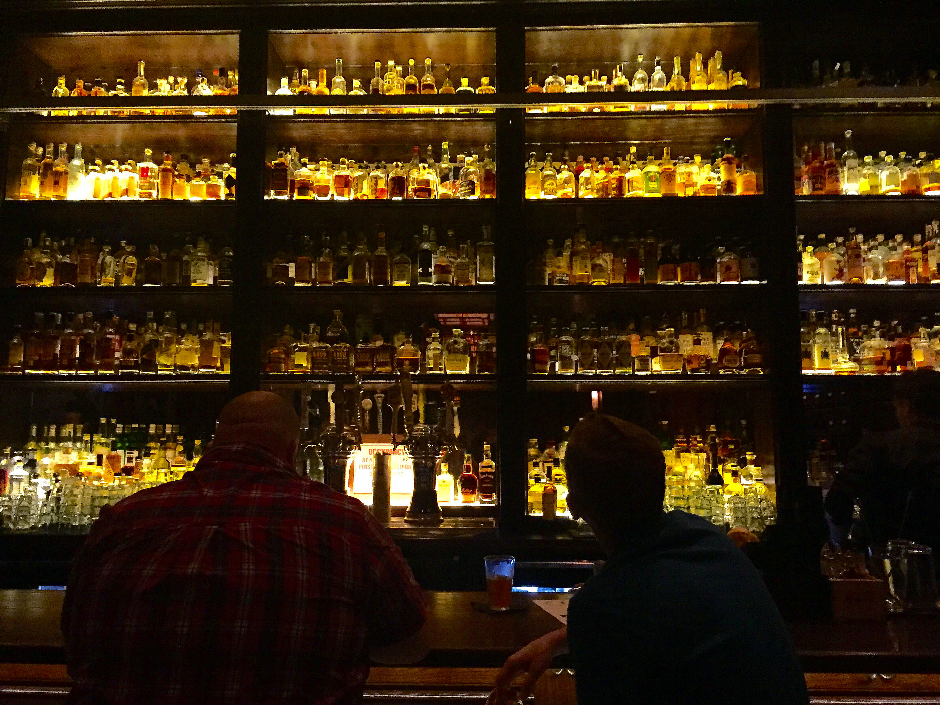 Untitled's Whiskey Library