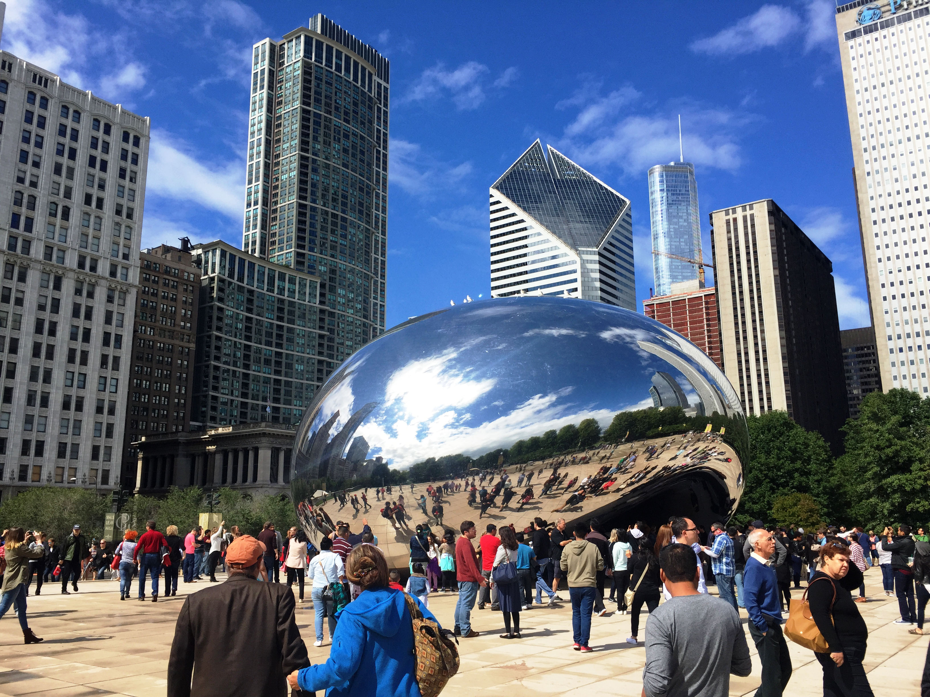 Chicago Bean at Millennium Park