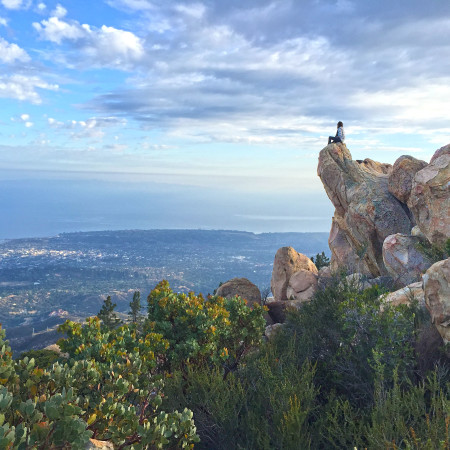Hiking Santa Barbara