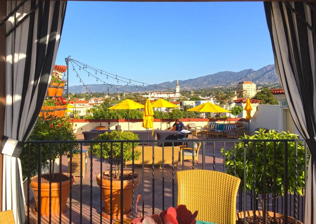 Canary Hotel Santa Barbara Restaurant