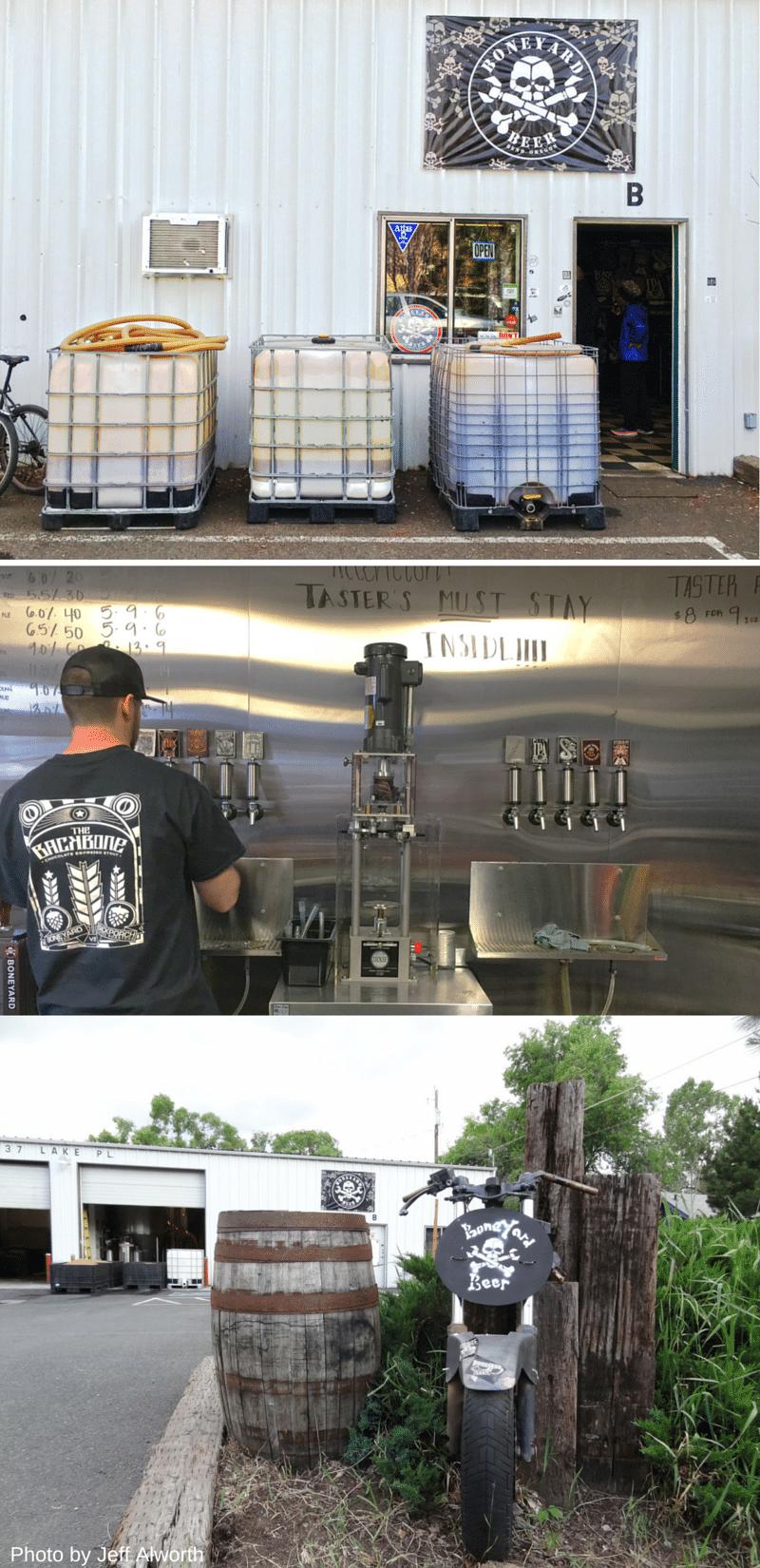 Beer Tasting in Bend: Boneyard Beers