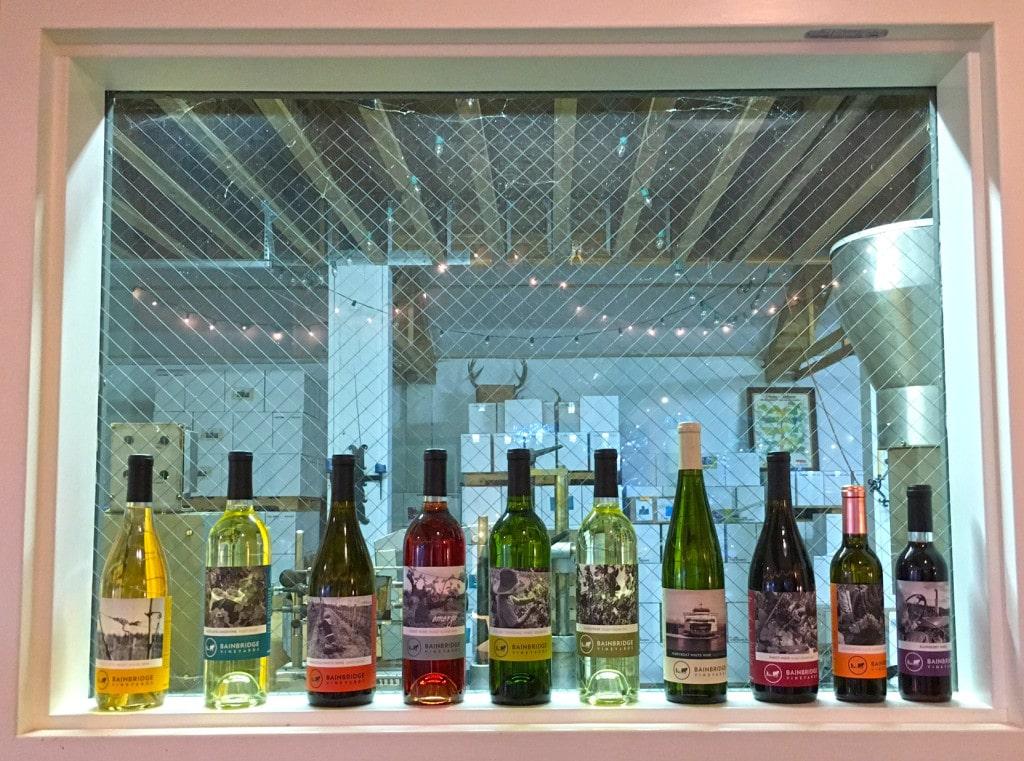 Bainbridge vineyards - Bainbridge Island Wine Tasting
