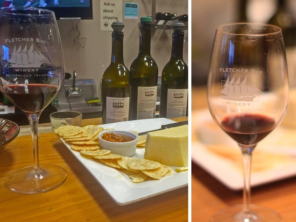 Fletcher Bay - Bainbridge Island Wine Tasting