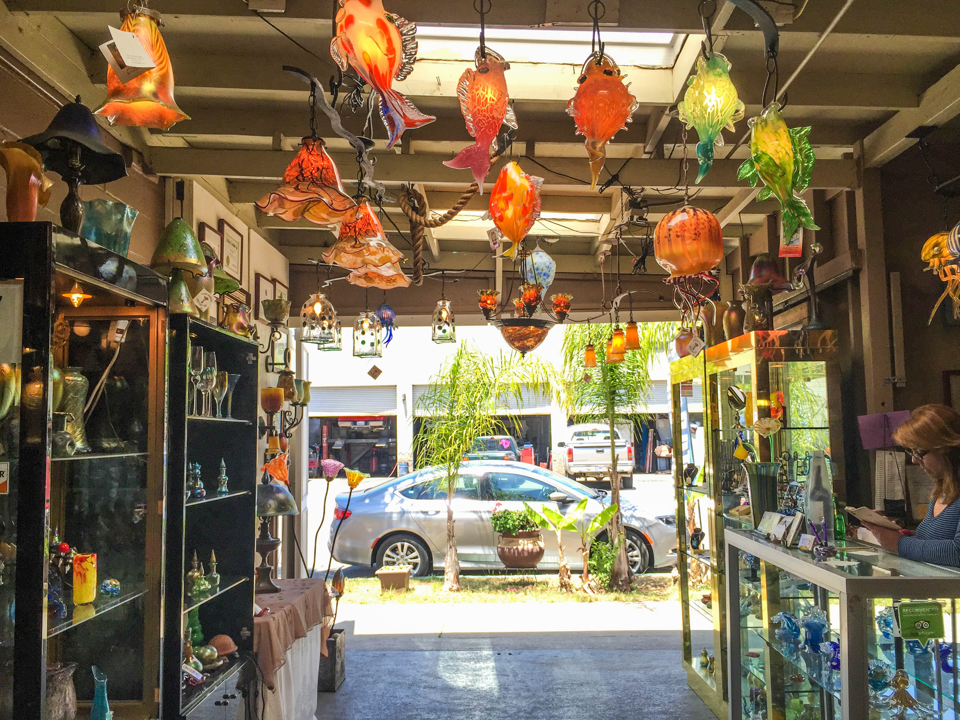 SB Art Glass - Glass Blowing in Santa Barbara