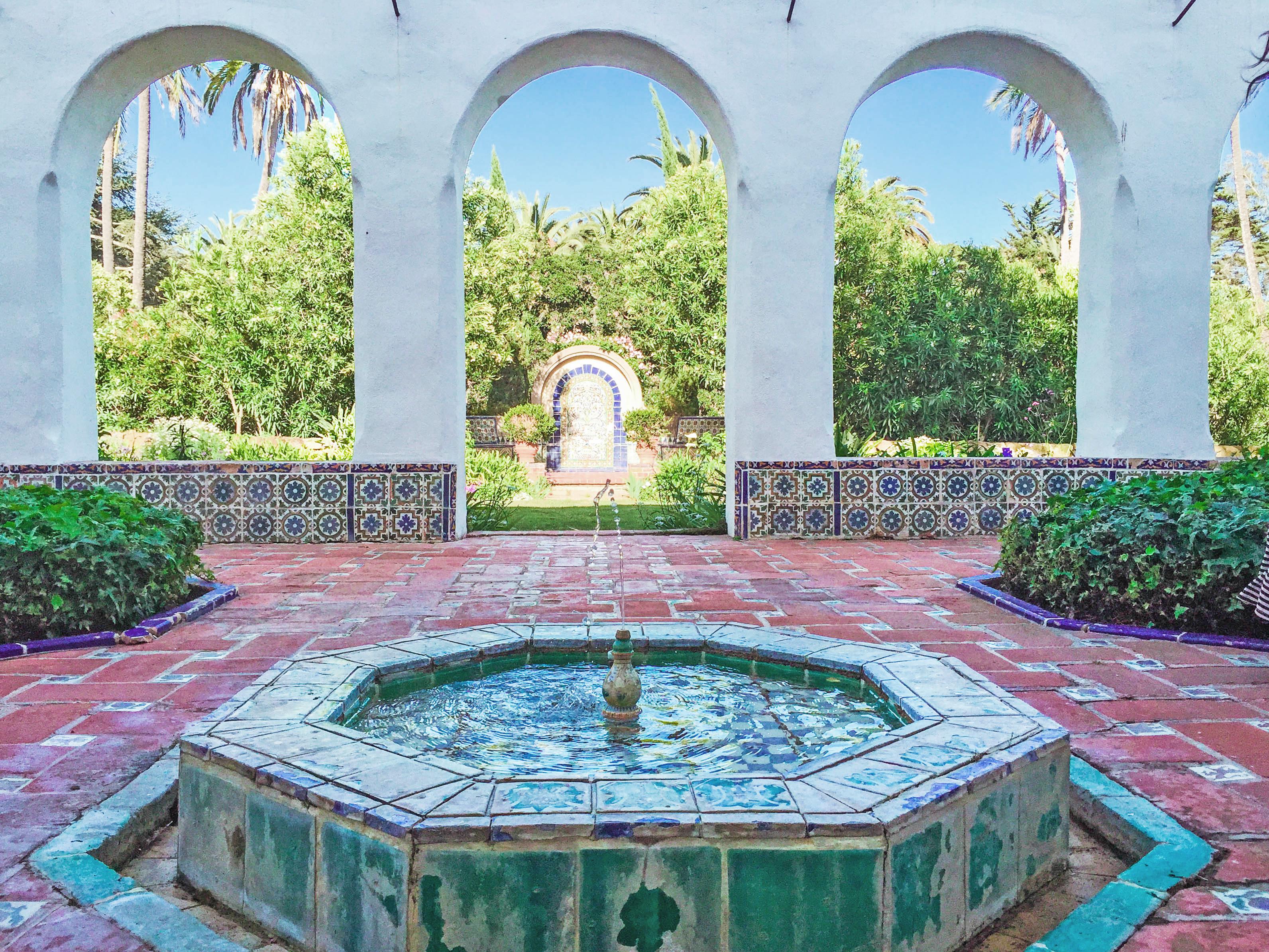 Casa Del Herrero Courtyard | Santa Barbara Culture