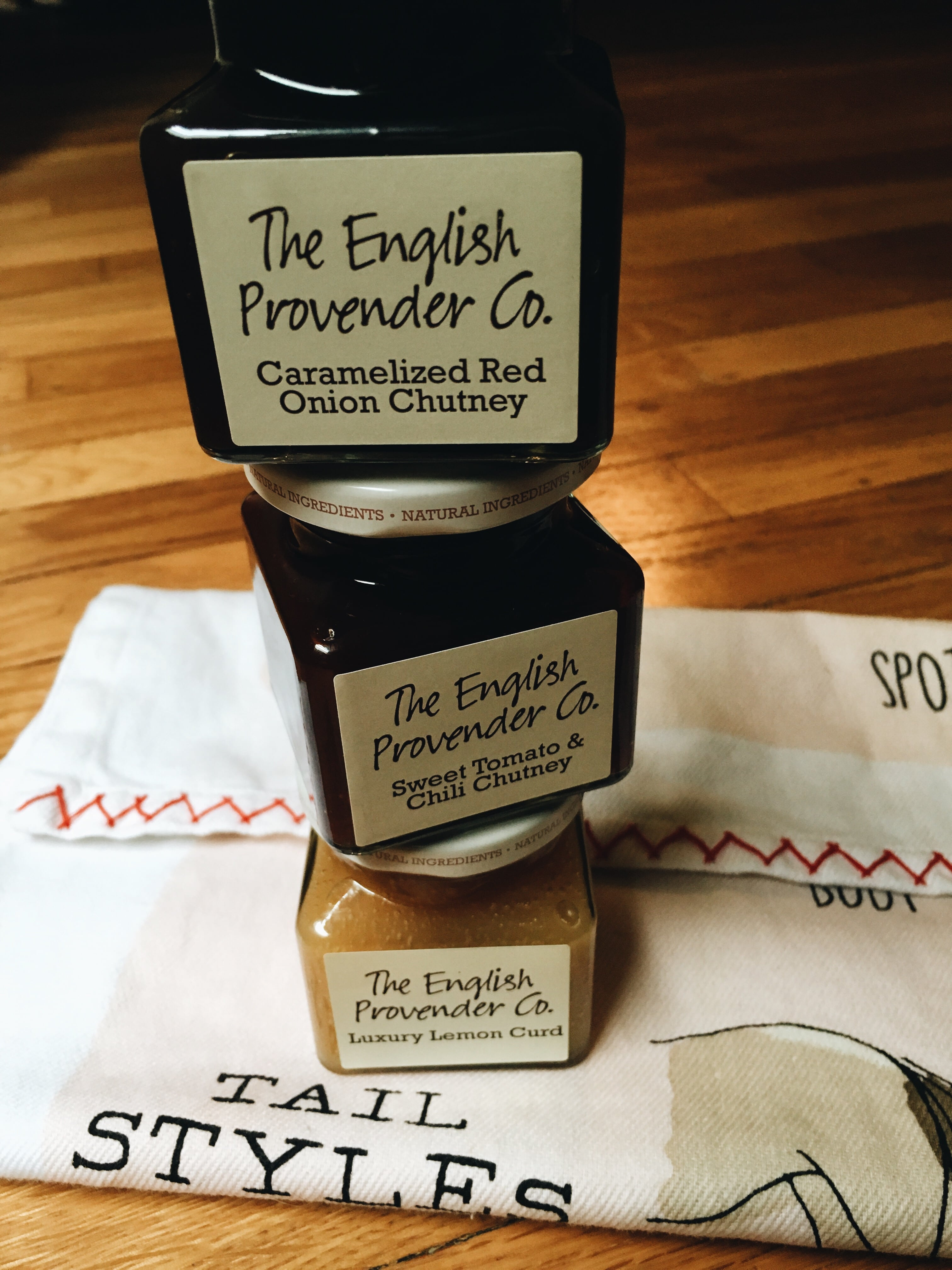 The English Provender Co Chutneys