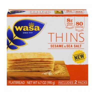 October Degustabox - Wasa Thins