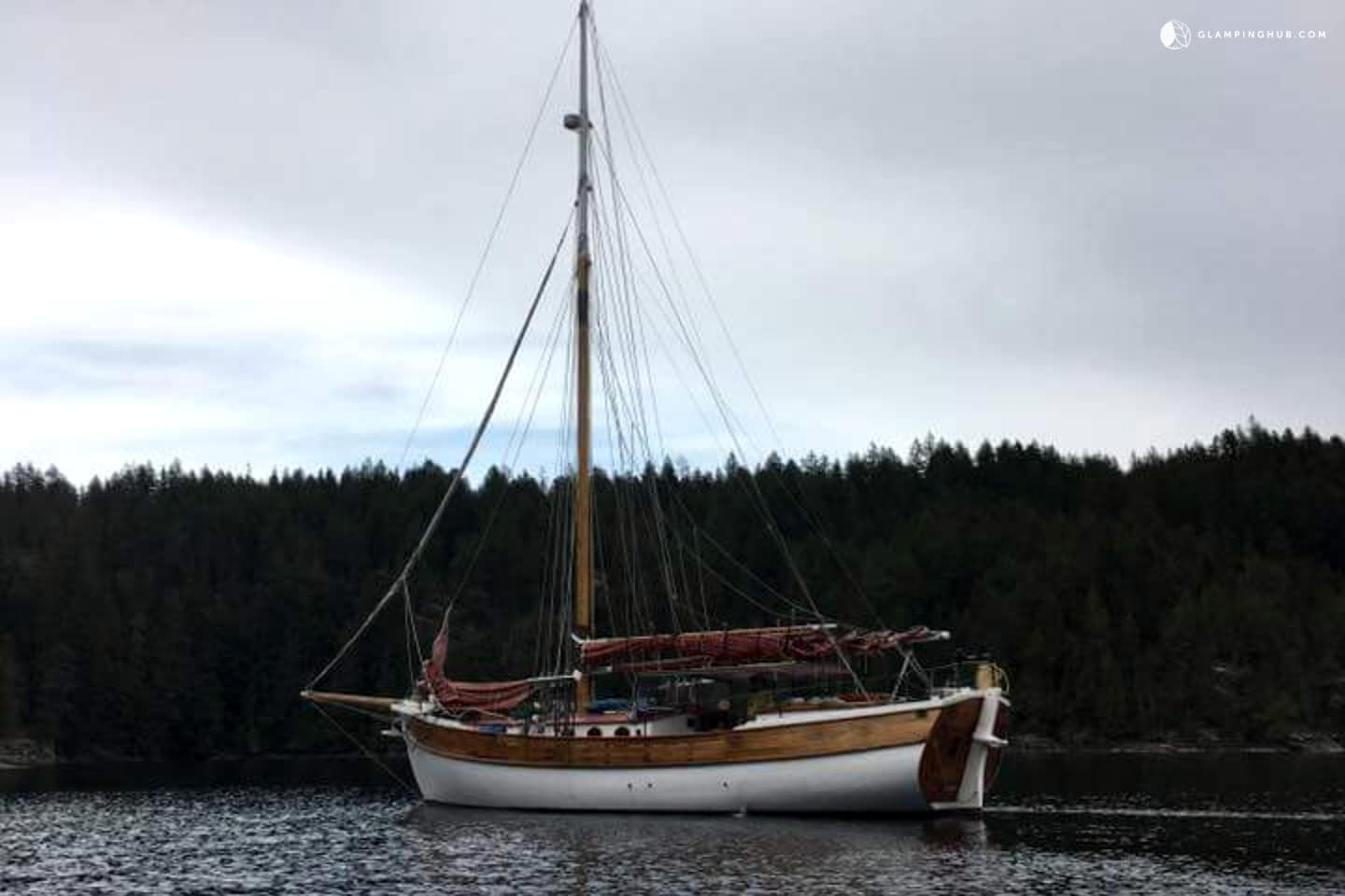 Glamping in the Pacific Northwest: Washington Sail Boat