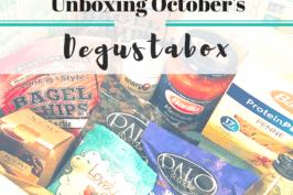 Unboxing October's Degustabox