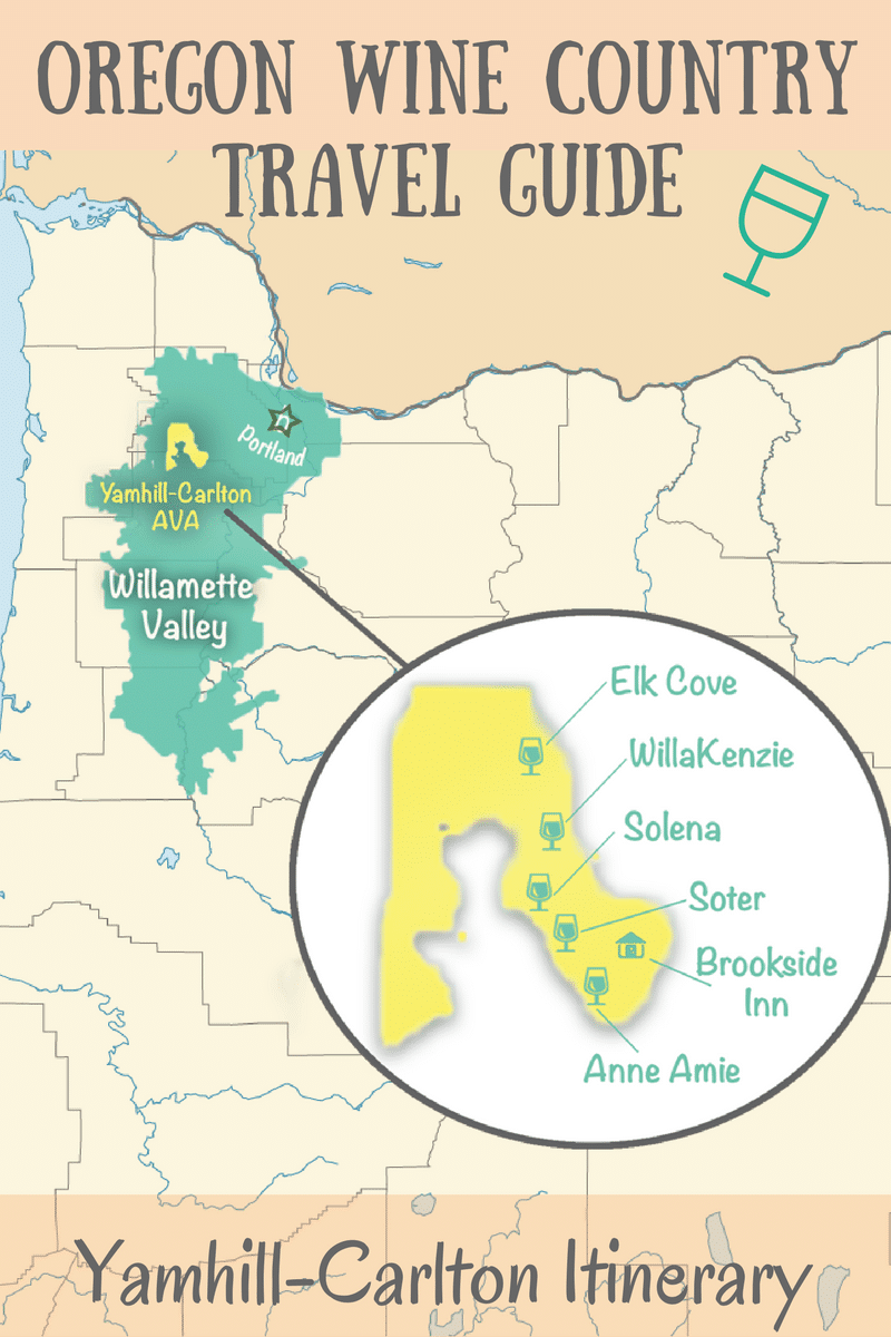 Oregon Wine Country Travel Guide : Yamhill-Carlton Itinerary