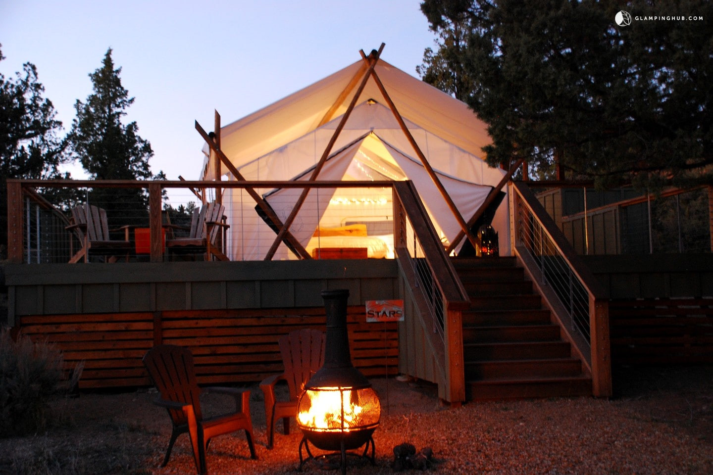 Glamping in the Pacific Northwest: Washington Safari Tent