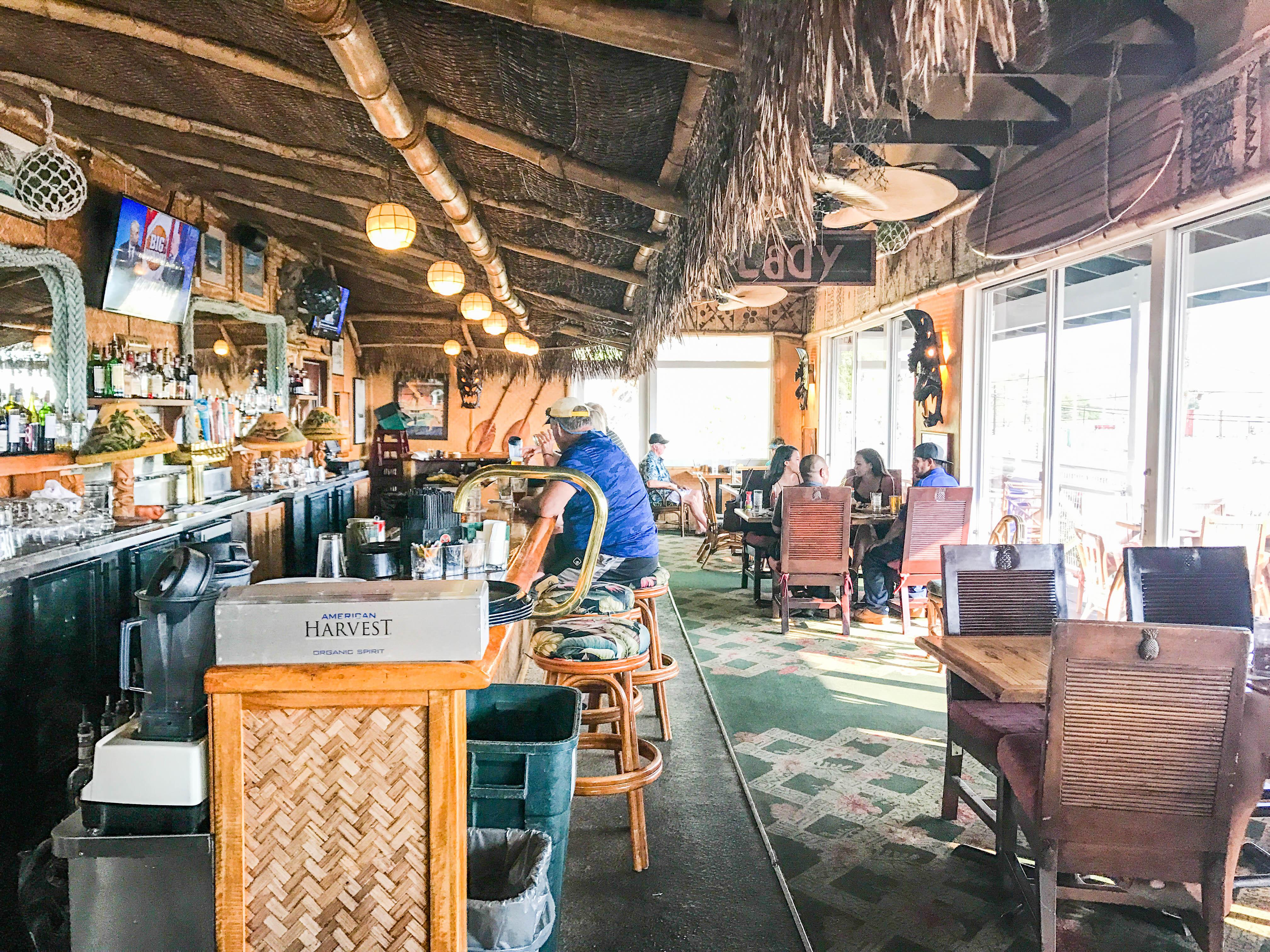 Seafood Bar Kawaihae Hawaii