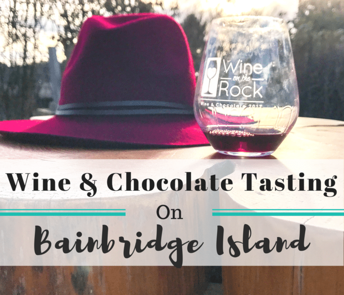 Wine On The Rock: Wine & Chocolate Tasting on Bainbridge Island, Washington