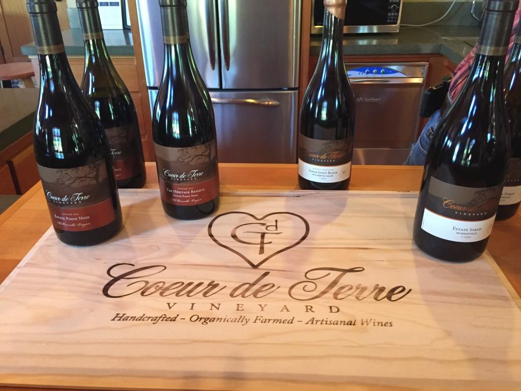 Coeur de Terre wine