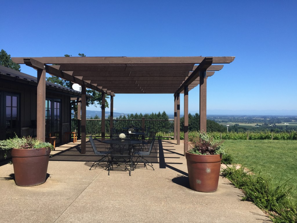 Durant Vineyards Patio