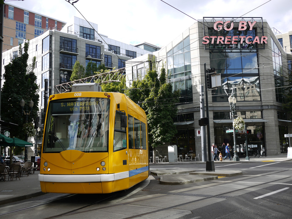 Portland Transportation Options - Streetcar