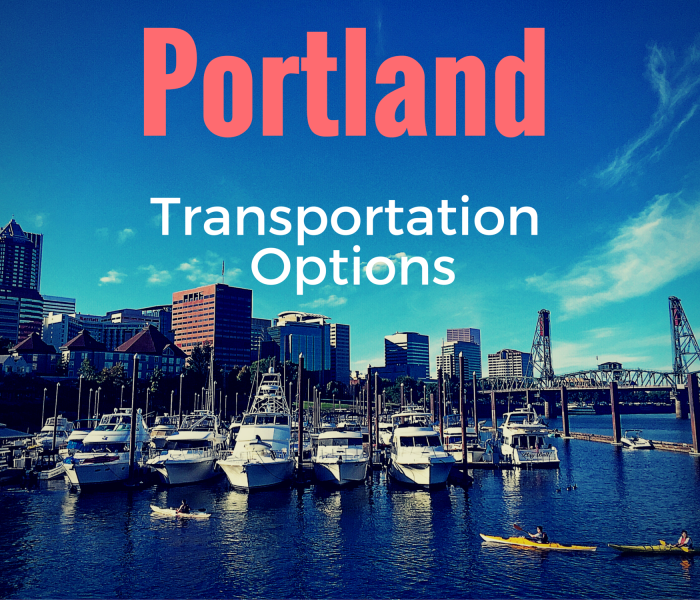 How to get around Portland: Portland Transportation Options
