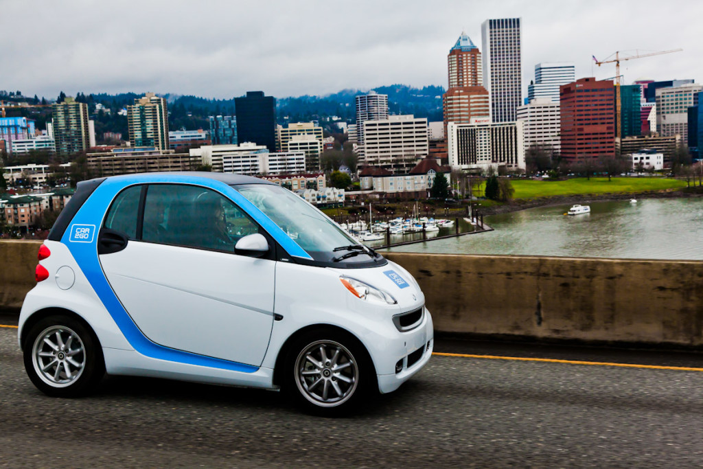 Portland Transportation Options: Car2Go