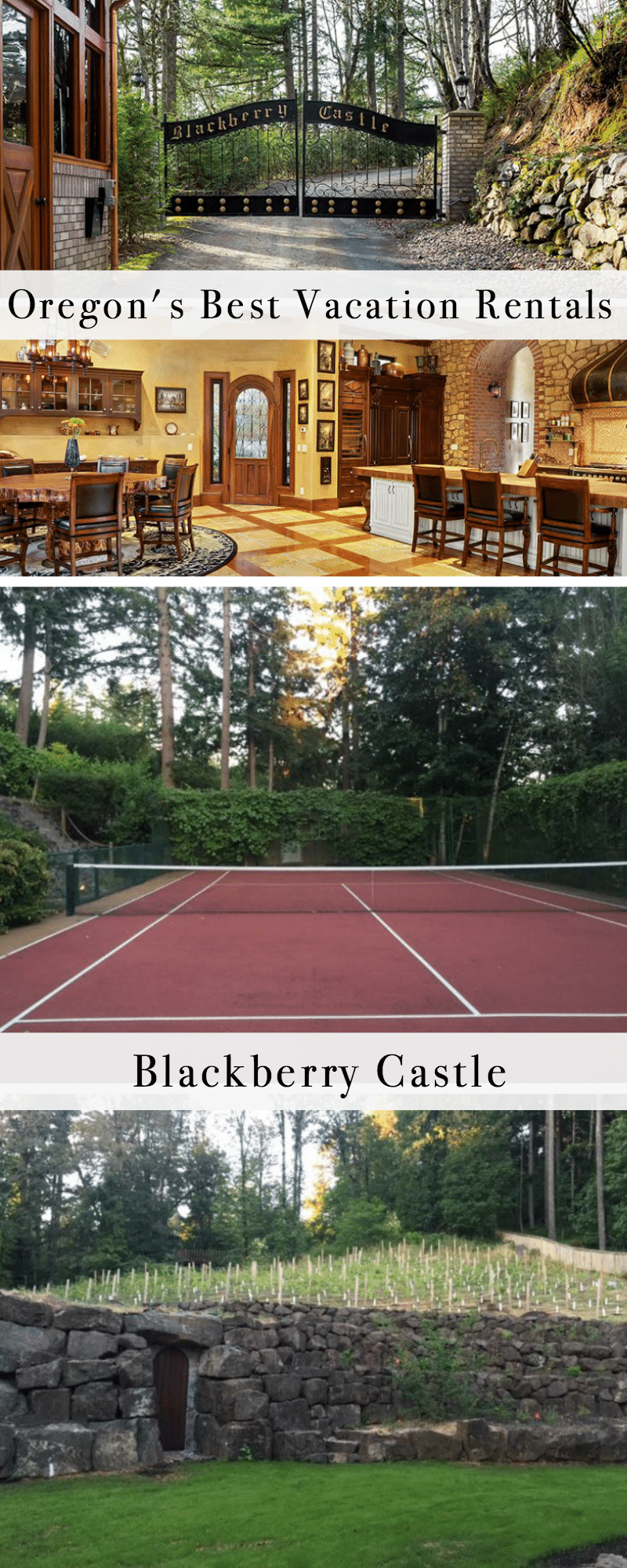 Oregon's Best Vacation Rentals: Blackberry Castle