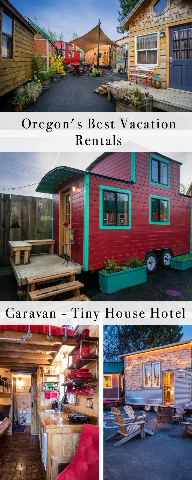 Oregon's Best Vacation Rentals: Caravan Tiny House Hotel 1