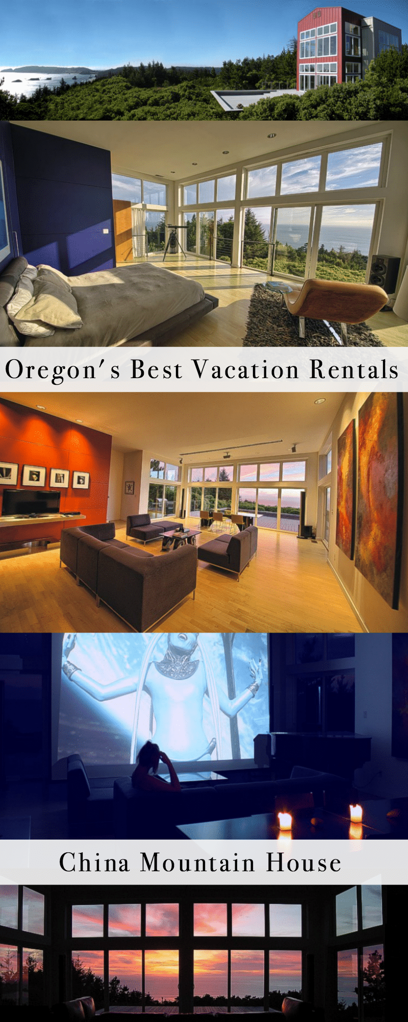 Oregon's Best Vacation Rentals: China Mountain House