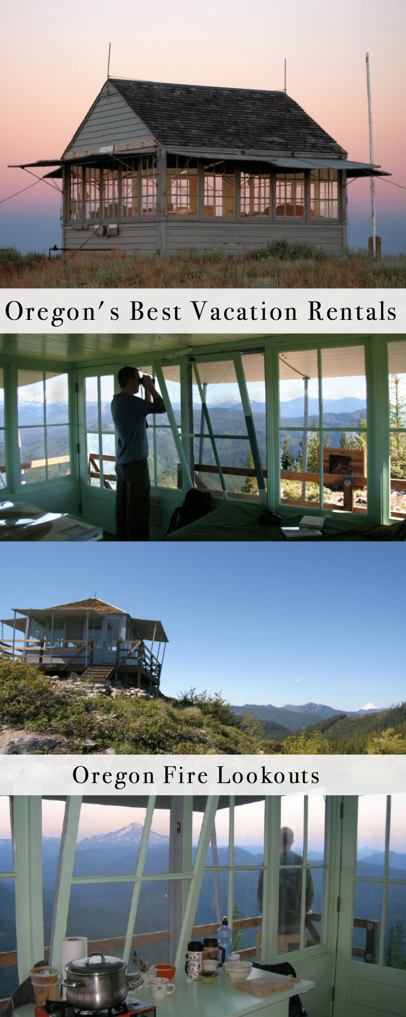 Oregon's Best Vacation Rentals: Oregon Fire Lookouts