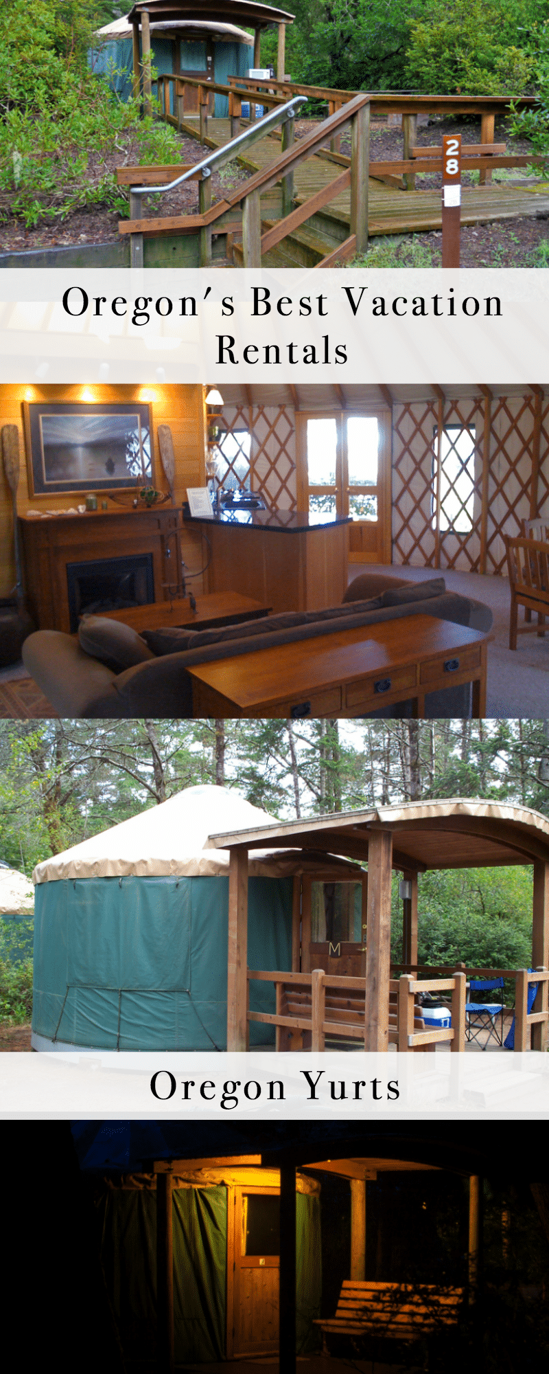 Oregon's Best Vacation Rentals: Oregon Yurts