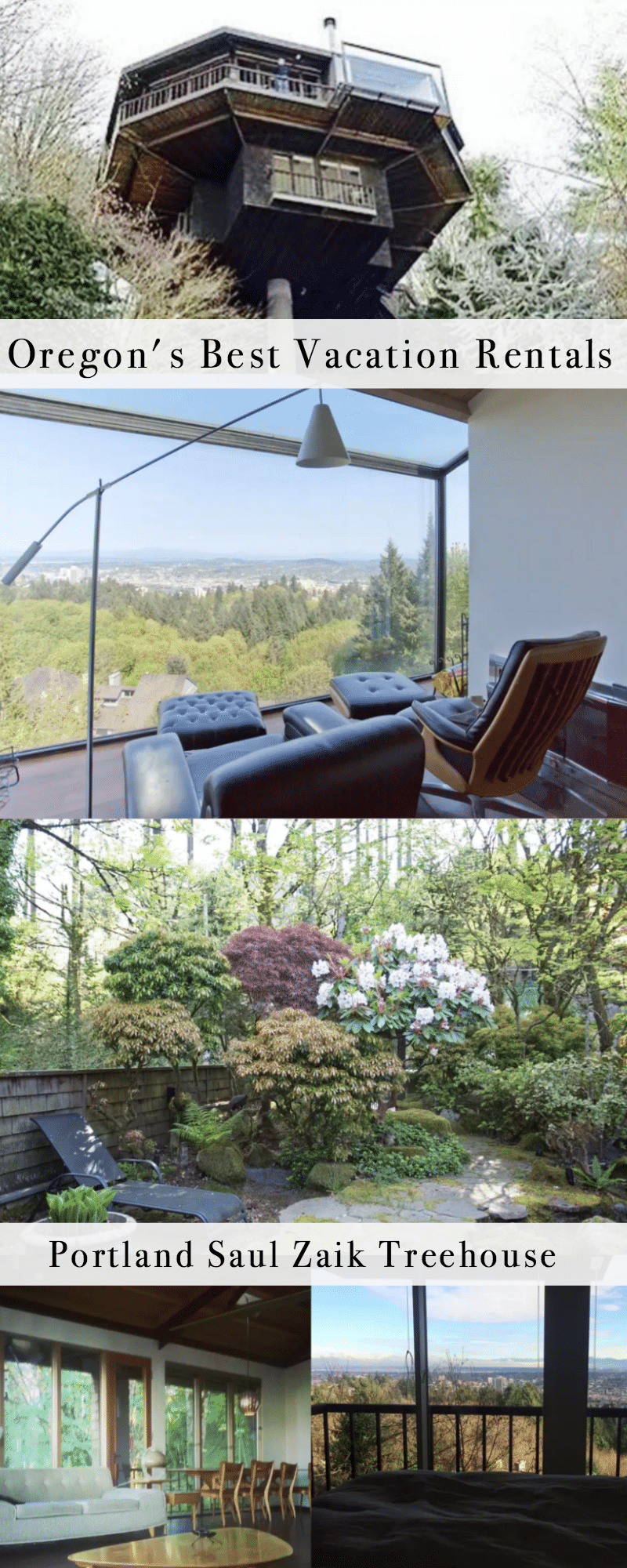 Oregon's Best Vacation Rentals: Portland Treehouse