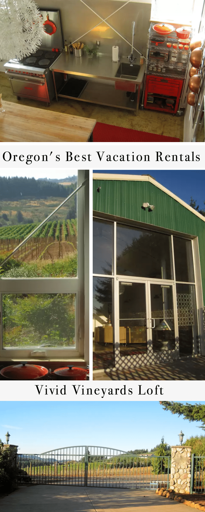 Oregon's Best Vacation Rentals: Vivid Vineyards Loft