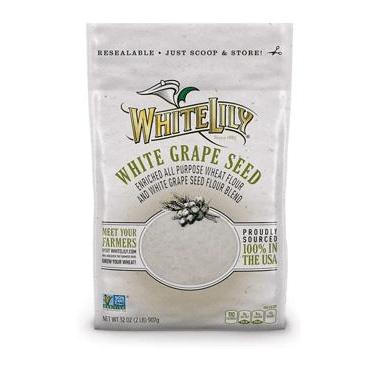 White Lilly White Grape Seed Flour