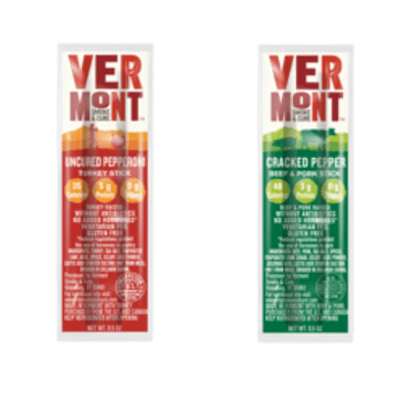 Vermont Smoke and Cure Beef and Pork Sticks