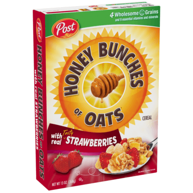 Honey Bunches of Oats with Strawberries
