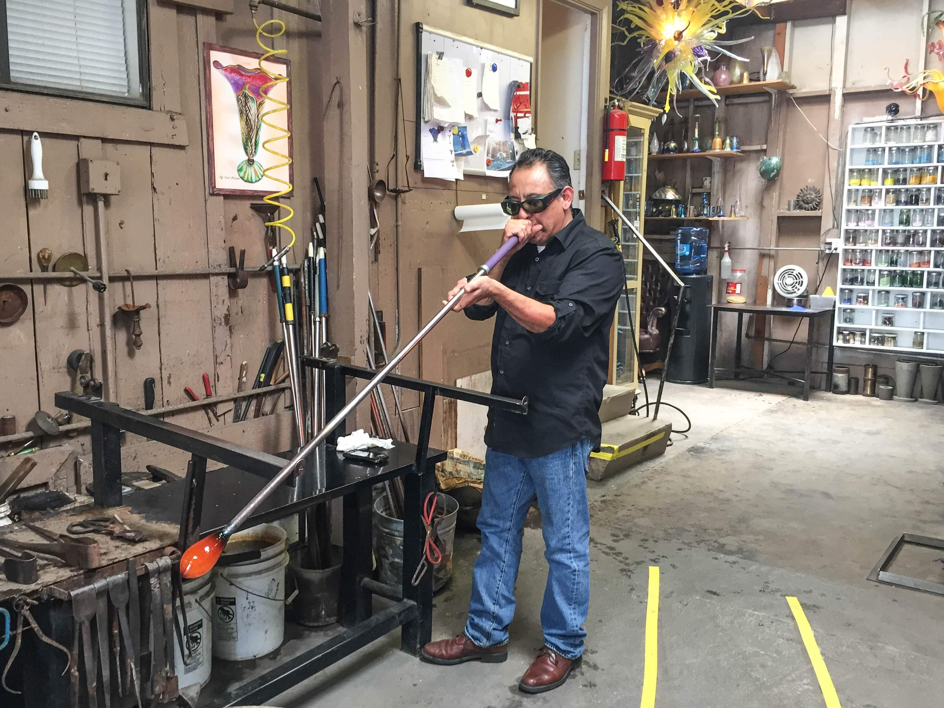 SB Art Glass, Santa Barbara Glass Blowing