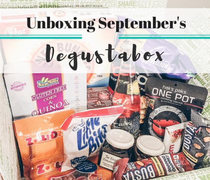September Degustabox Review