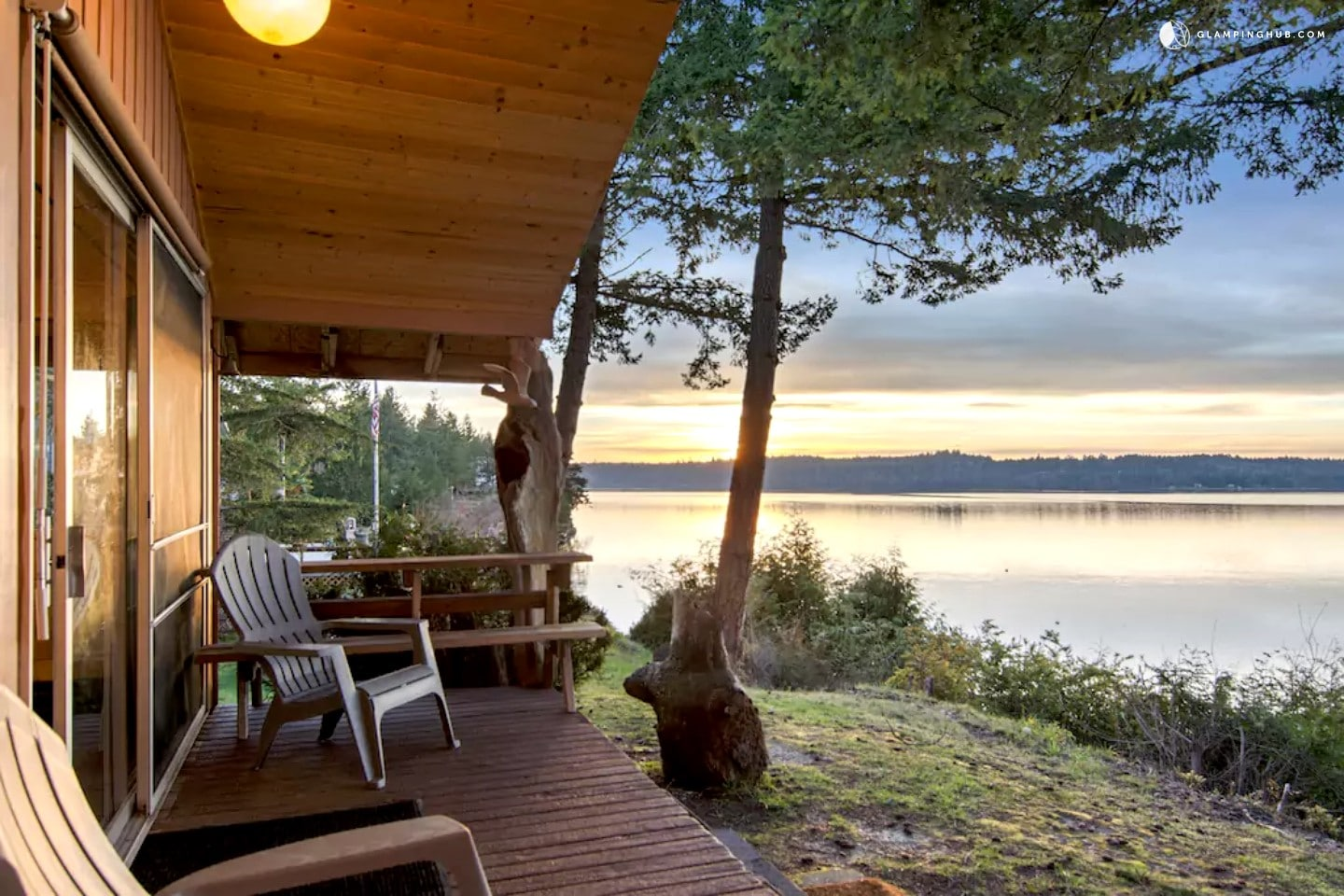 Glamping In The Pacific Northwest Washington Beach House