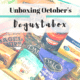 Unboxing October's Degustabox