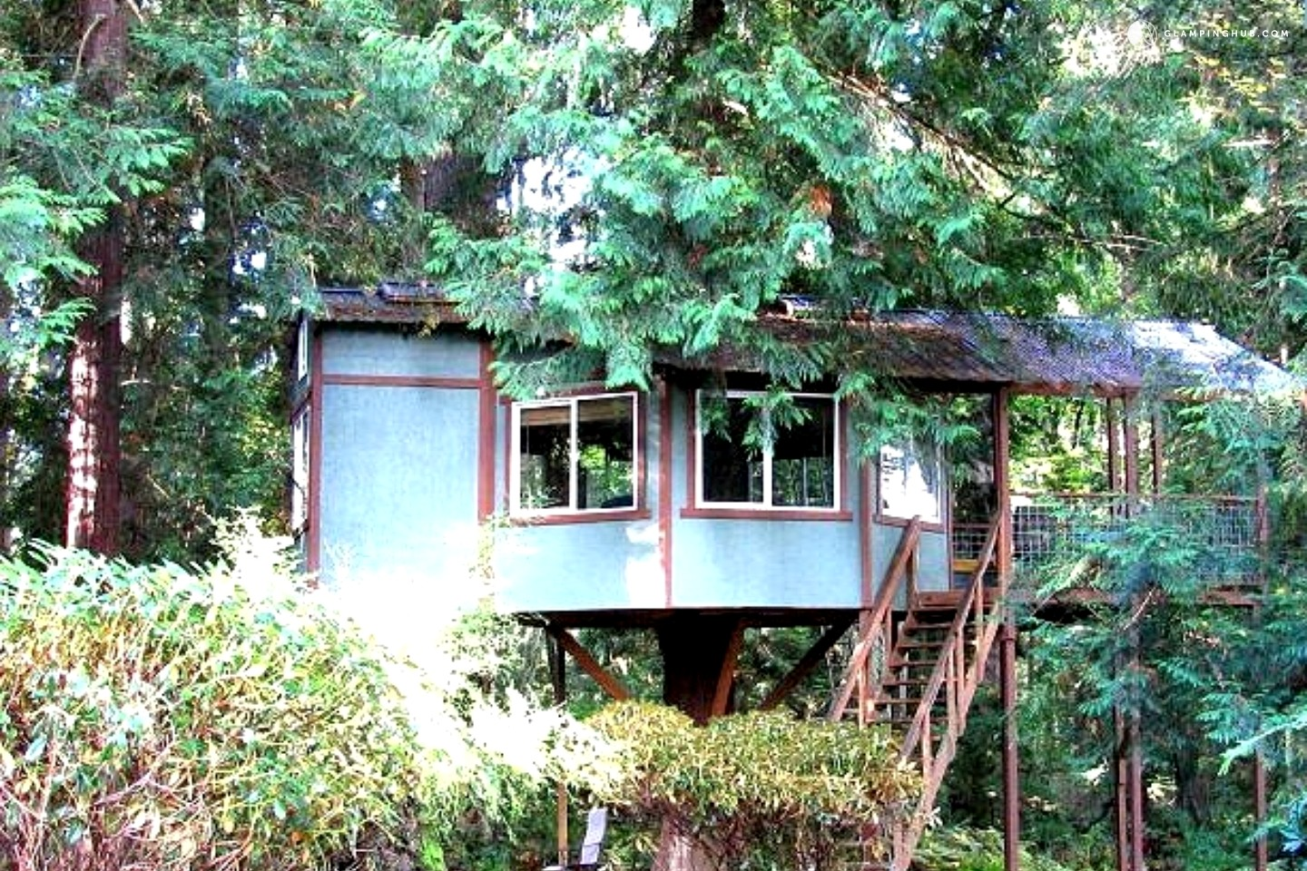 Glamping in the Pacific Northwest: Treehouses