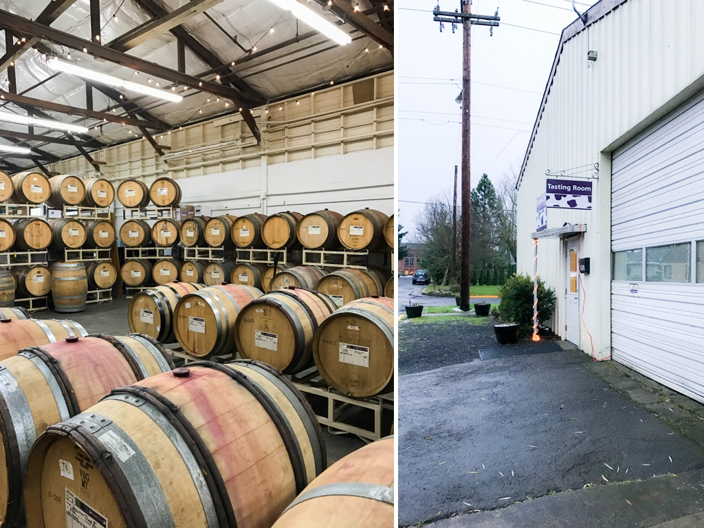 Purple Cow Vineyards - Oregon