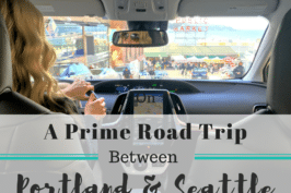 Prius prime road trip between Portland Seattle