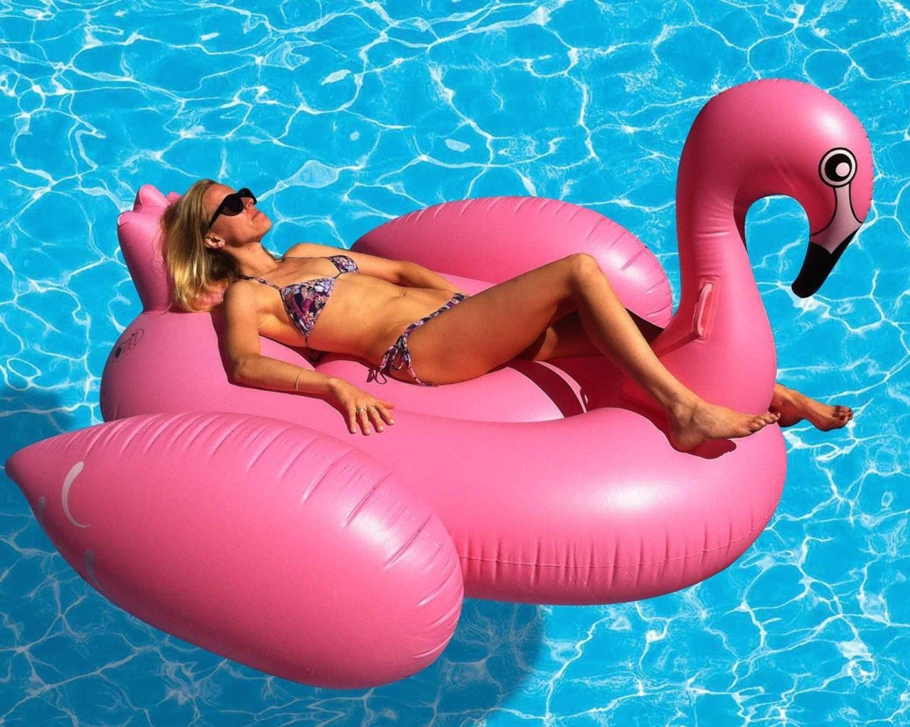 Giant Flamingo Float - Instagram Worthy Pool Floats