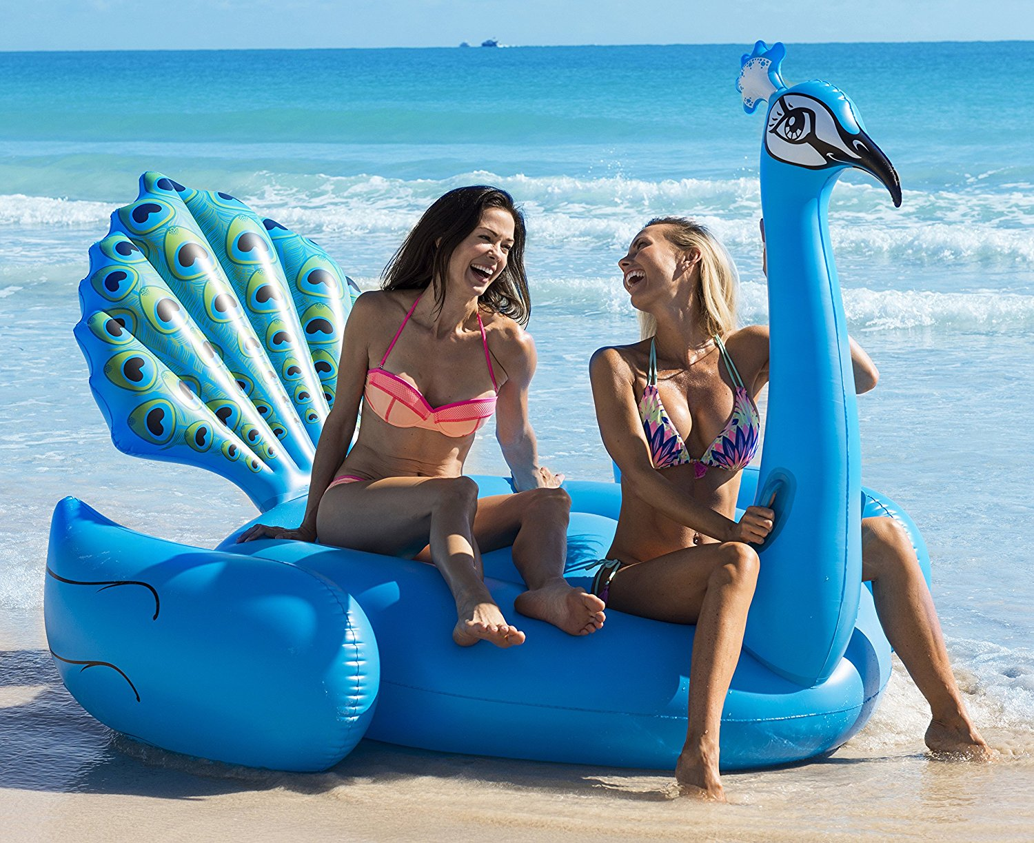 Peacock Pool Float - The most Instagram worthy Pool Floats Summer 2017