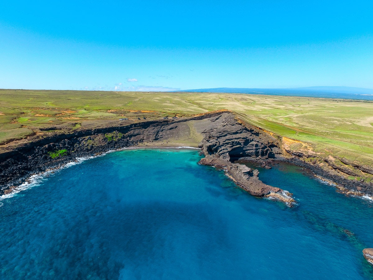 10 Incredible Places to Visit on Hawaii's Big Island - Green Sand Beach