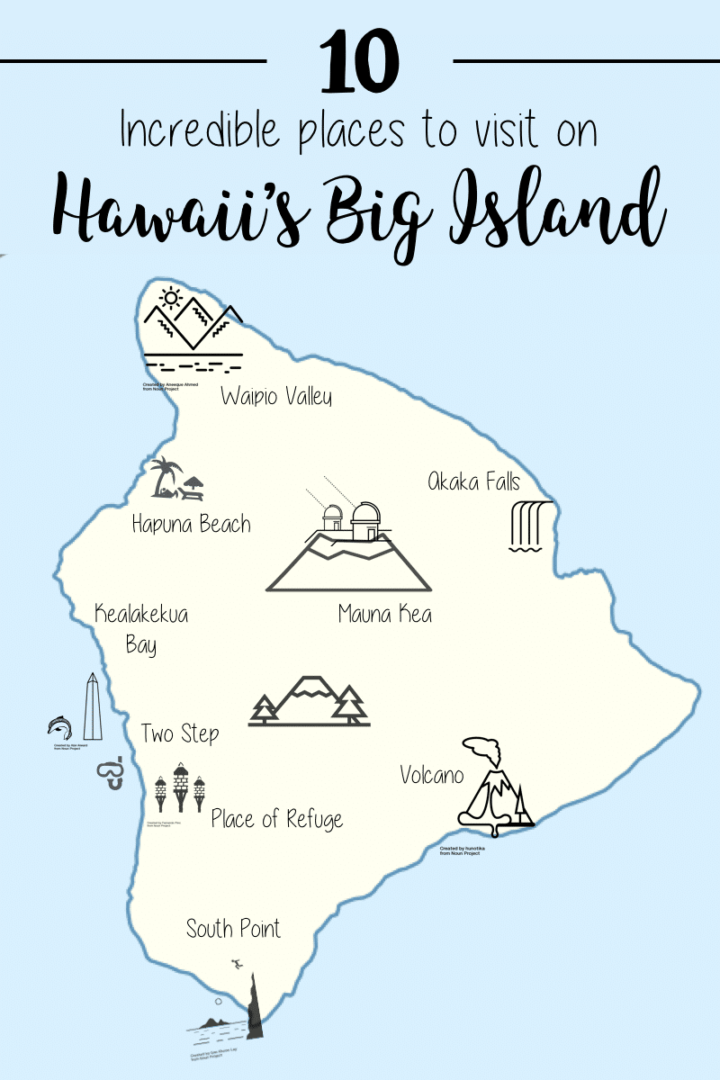 10 Incredible Places to Visit on Hawaii's Big Island