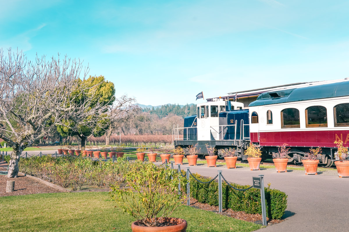 A Weekend in Wine Country: Getaway Guide to Napa Valley - Napa Valley Wine Train