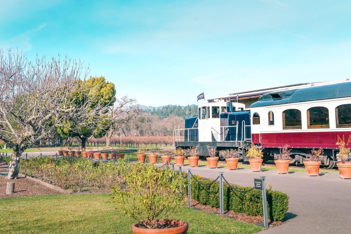 Train Tour Through Napa Valley