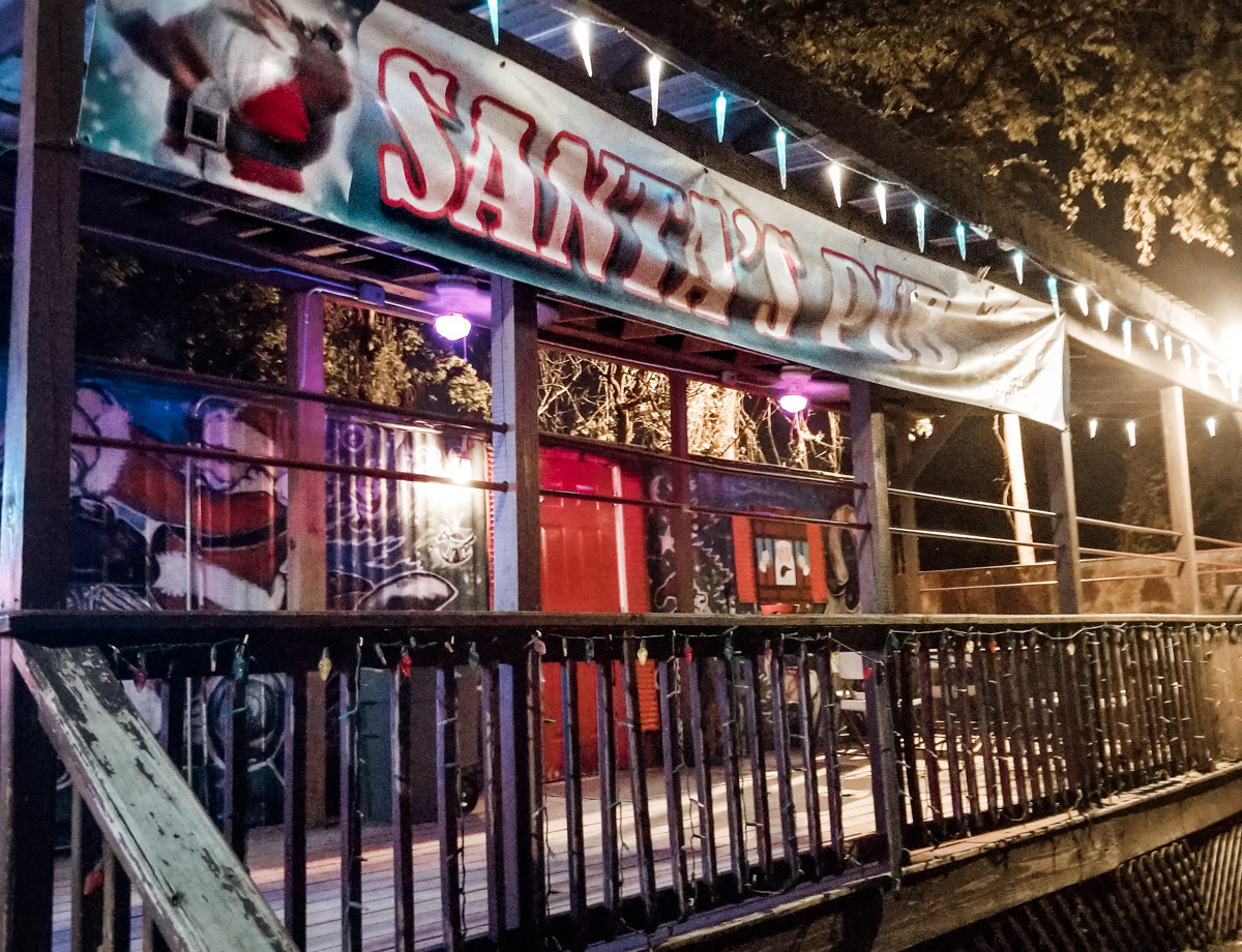 The Ultimate Nashville Travel Guide: 26 Things to do in Nashville - Santa's Bar